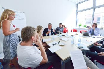 Institutional cooperation meeting in Brno Source: Marie Schmerková, City of Brno
